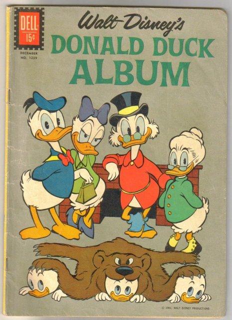 Dell Four Color #1239 Donald Duck Album comic book very good plus 4.5