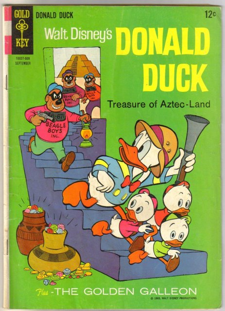Donald Duck #103 comic book very good 4.0