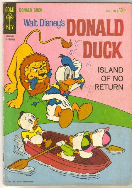 Donald Duck #97 comic book very good 4.0