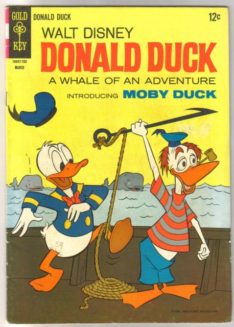 Donald Duck #112 comic book very good 4.0
