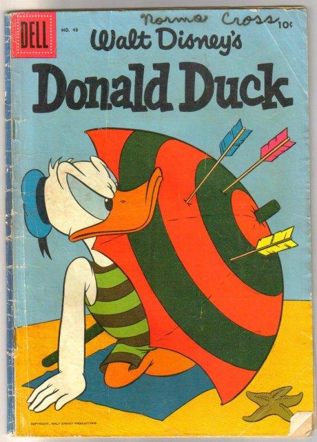 Donald Duck #48 comic book good/very good 3.0