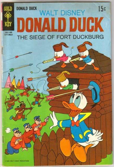 Donald Duck #127 comic book very good plus 4.5