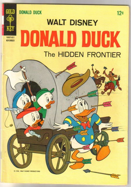 Donald Duck #114 comic book fine 6.0