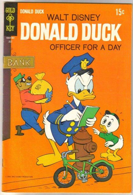 Donald Duck #126 comic book fine 6.0