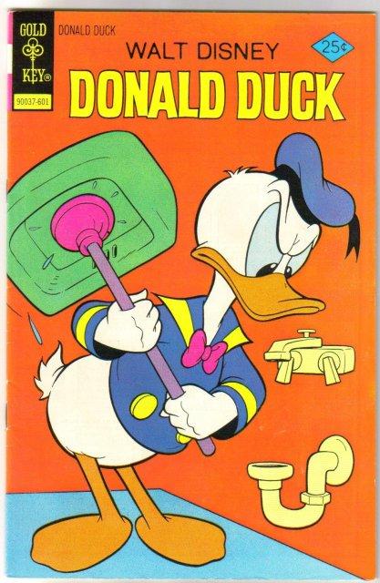 Donald Duck #168 comic book very fine 8.0