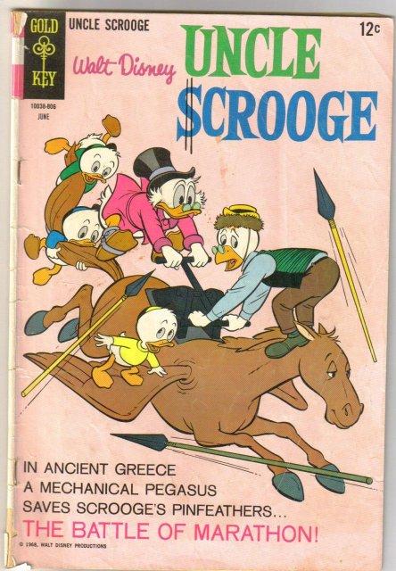 Uncle Scrooge #75 comic book good 2.0