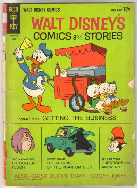 Walt Disney's Comics and Stories #285  comic book good/very good 3.0
