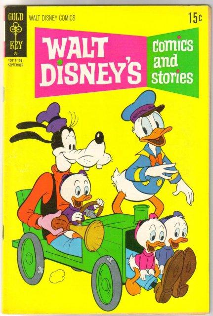 Walt Disney's Comics and Stories #372  fine/very fine 7.0