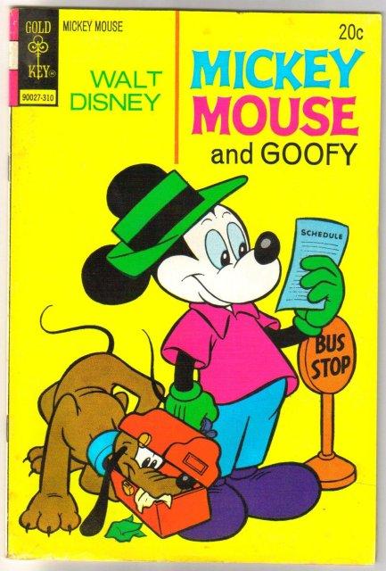 Mickey Mouse #145 comic book fine 6.0