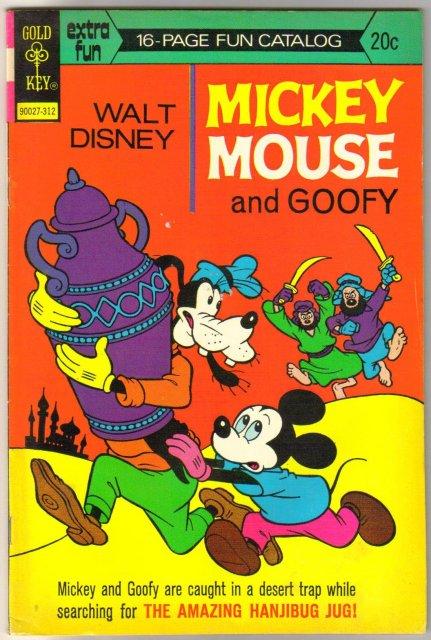 Mickey Mouse #146 comic book fine/very fine 7.0