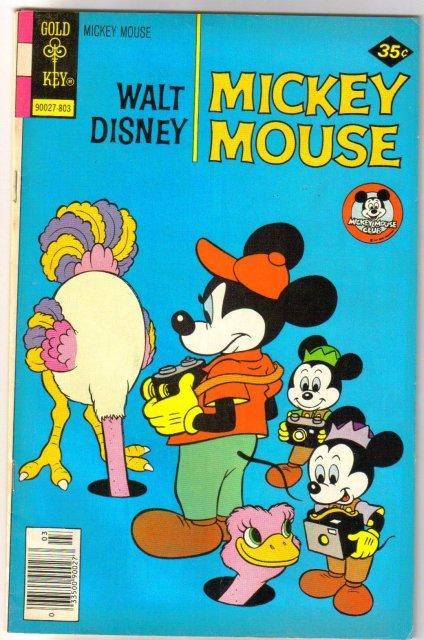 Mickey Mouse #181 comic book fine/very fine 7.0