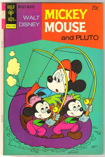 Mickey Mouse #144 comic book very fine 8.0