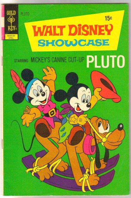 Walt Disney Showcase #7 Pluto comic book fine 6.0