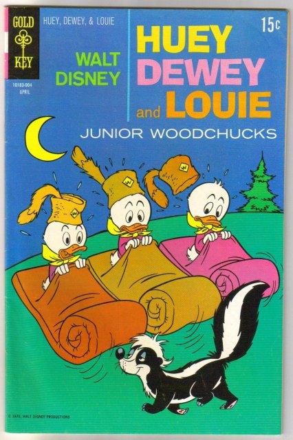 Huey Dewey and Louie #5 comic book fine 6.0