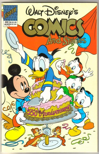 Walt Disney's Comics and Stories #550 comic book mint 9.8
