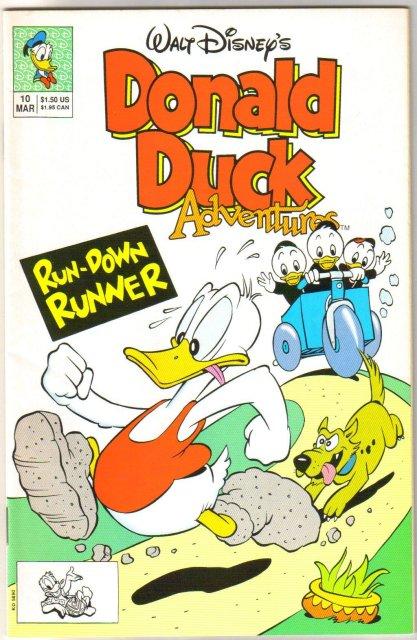 Donald Duck Adventures #10 comic book near mint 9.4