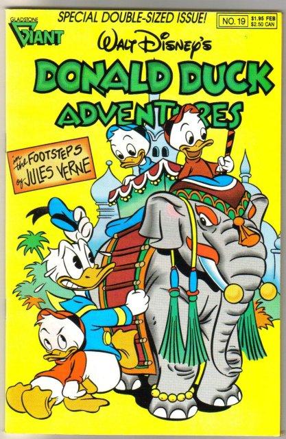 Donald Duck Adventures #19 comic book near mint 9.4