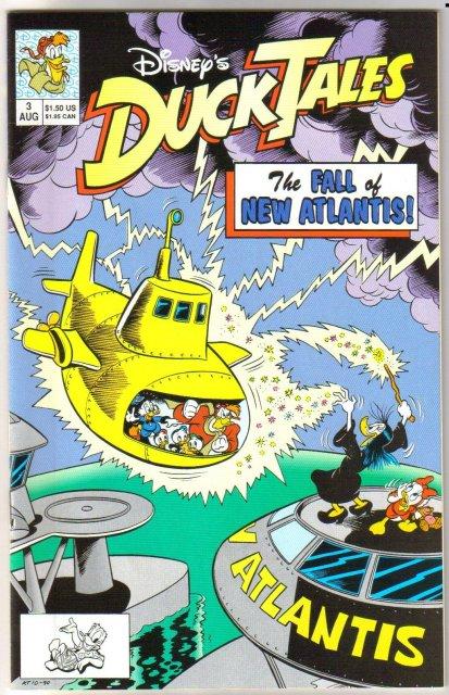 Duck Tales #3 comic book near mint 9.4