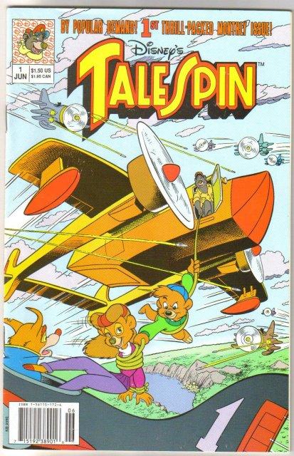 Tale Spin #1 comic book near mint 9.4