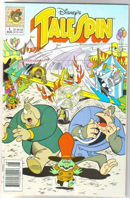 Tale Spin #3 comic book near mint 9.4