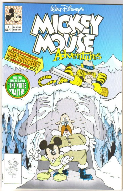 Mickey Mouse Adventuires #4 comic book near mint 9.4