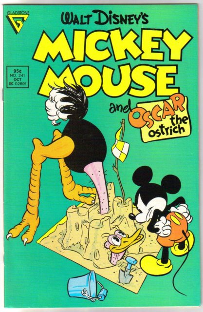 Gladstone Mickey Mouse #241  comic book near mint 9.4