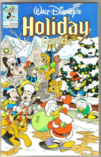 Walt Disney's Holiday Parade #1 comic book near mint 9.4