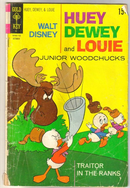 Huey Dewey and Louie #11 comic book good 2.0