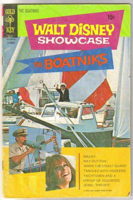 Walt Disney Showcase #1 comic book very good 4.0 starring The Boatniks
