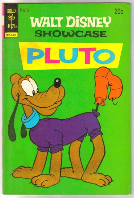 Walt Disney Showcase #20 comic book fine  6.0 starring Pluto