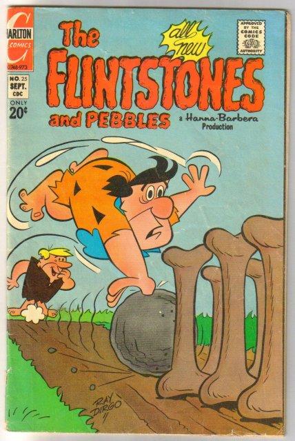 The Flintstones #25 comic book very good 4.0
