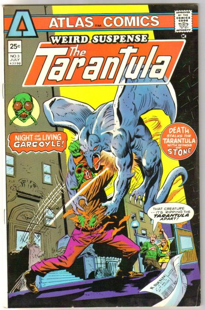 Atlas Comics Weird Suspense featurine The Tarantula #3 comic book fine/very fine 7.0