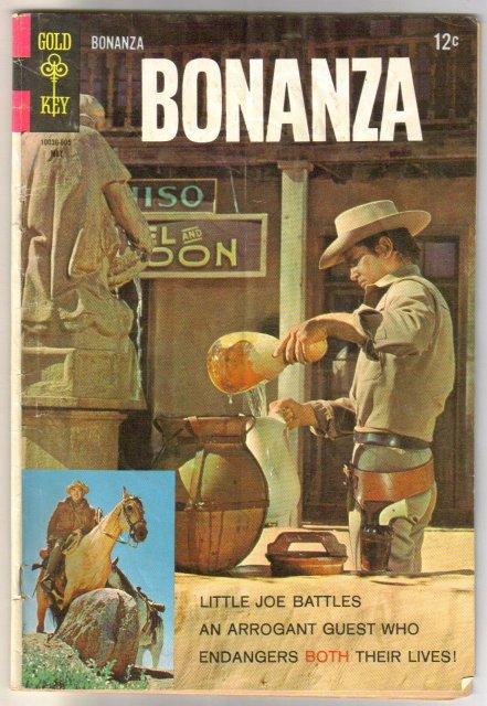 Bonanza #28 comic book good 2.0