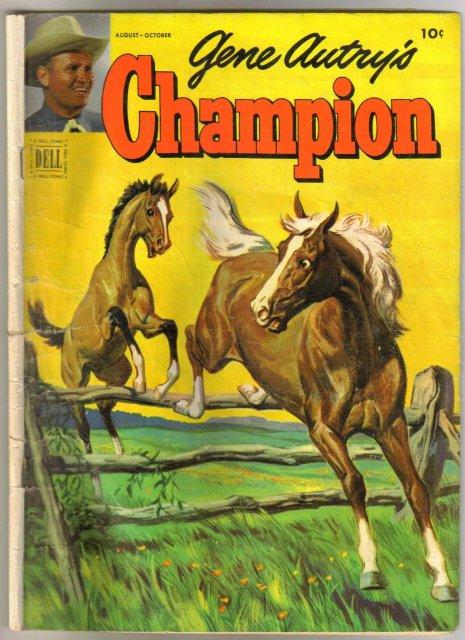 Gene Autry's Champion #7 comic book good/very good 3.0