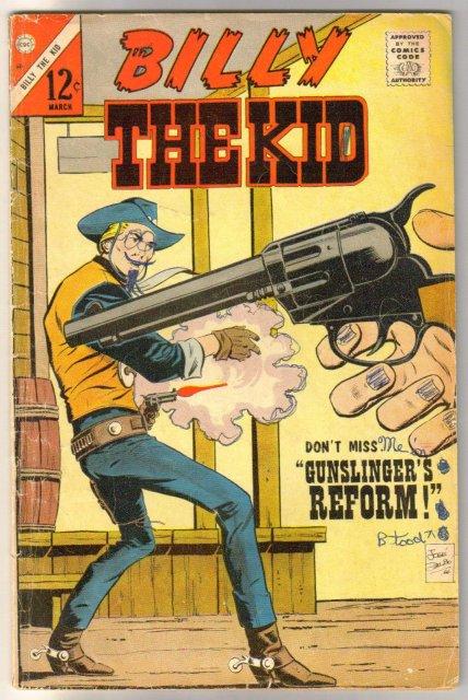 Billy the Kid #60 comic book good/very good 3.0
