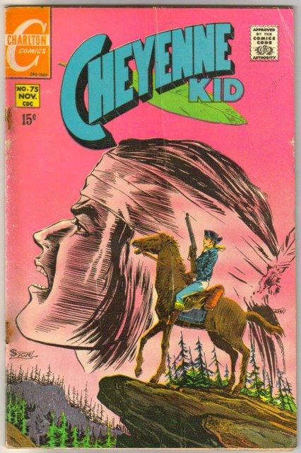 Cheyenne Kid #75 comic book very good 4.0