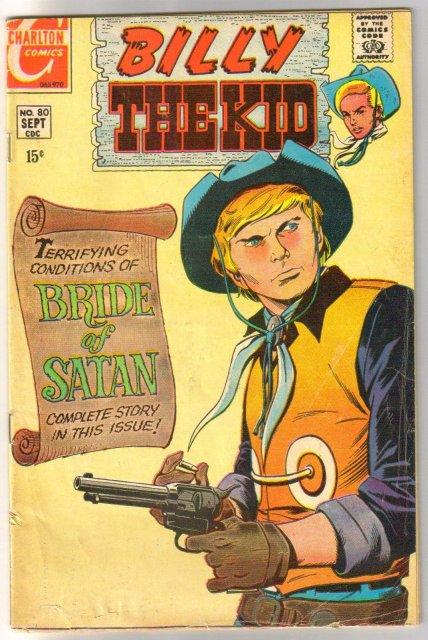 Billy the Kid #80 comic book very good 4.0