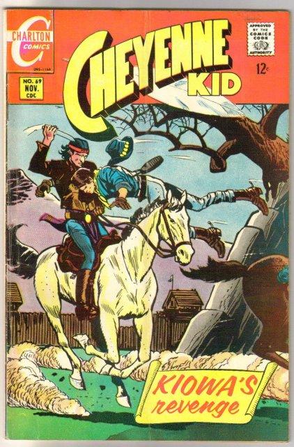 Cheyenne Kid #69 comic book very good/fine 5.0
