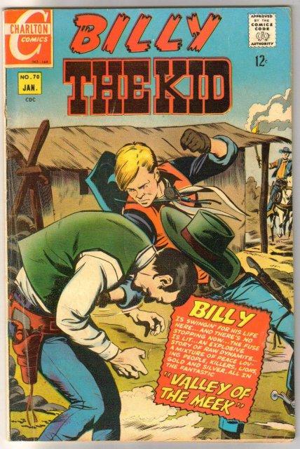 Billy the Kid #70 comic book very good/fine 5.0