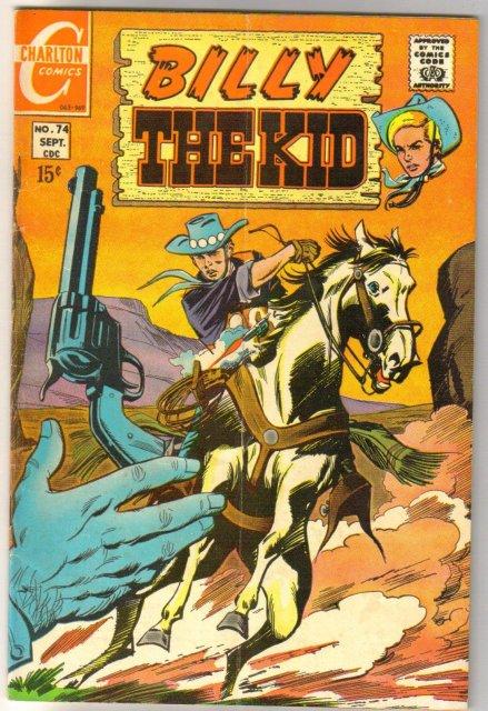 Billy the Kid #74 comic book very good/fine 5.0