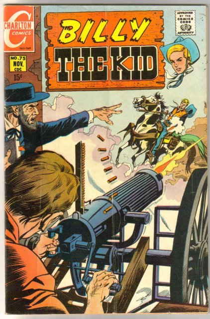 Billy the Kid #75 comic book very good/fine 5.0