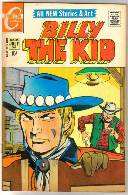 Billy the Kid #85 comic book very good/fine 5.0