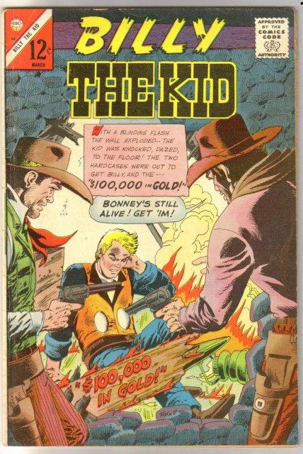 Billy the Kid #54 comic book fine 6.0