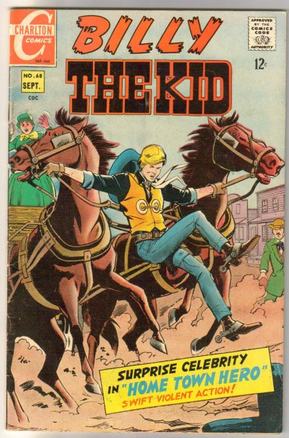 Billy the Kid #68 comic book fine 6.0