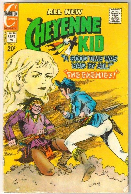 Cheyenne Kid #98 comic book fine 6.0