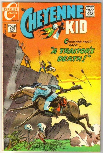 Cheyenne Kid #81 comic book very fine 8.0