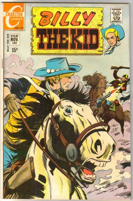 Billy the Kid #81 comic book very fine 8.0