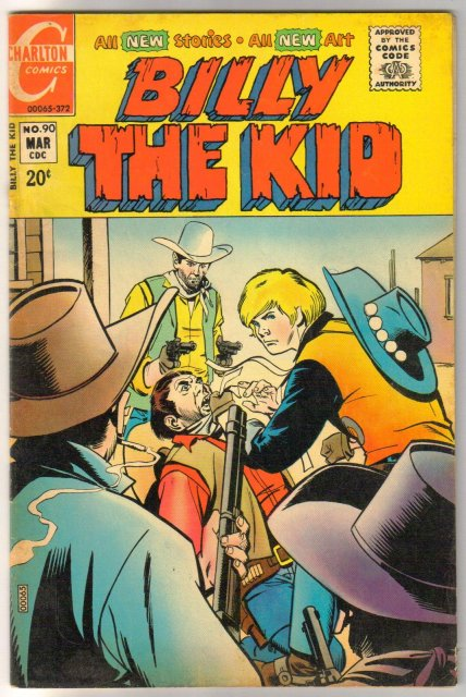 Billy the Kid #90 comic book very fine 8.0