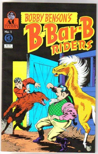Bobby Benson's B-Bar-B Riders #1 comic book near mint 9.4