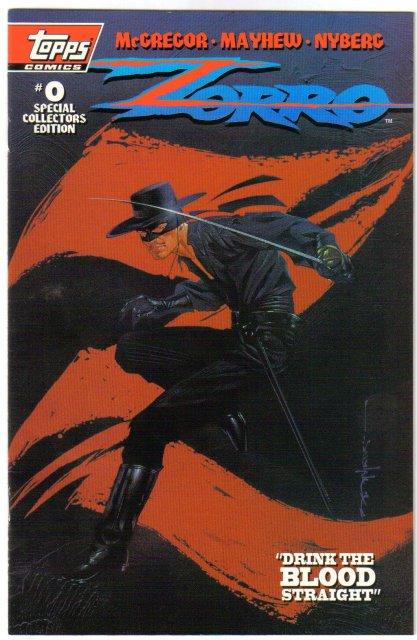 Zorro #0 special collector's edition comic book near mint 9.4